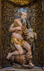 DSC6752 Alonso de Berruguete - San Jerónimo, Iglesia del Monasterio de Santa María la Real de Nieva, (Segovia) (Ramón Muñoz - ARTE) Tags: monasterio de santa maría la real nieva alonso berruguete escultura escultor san jerónimo