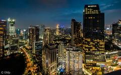 Mega Kuningan (Erwin Mulyadi) Tags: cityscape nightscape city night skyscrapper building high wideangle