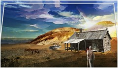 The Cabin (PaulO Classic. ©) Tags: photoshop gimp picmonkey paintnet surreal
