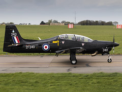 Royal Air Force | Short S-312 Tucano T1 | ZF240 (FlyingAnts) Tags: royal air force short s312 tucano t1 zf240 royalairforce shorts312tucanot1 raf saxonair norwich nwi egsh