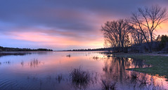 Jackson Lake firey sunset_Panorama2 (maryannenelson) Tags: colorado mancos jacksonlake sunset colors dusk landscape nonurban colorful panorama