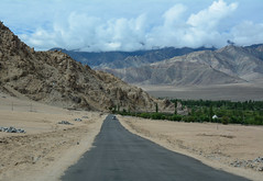 Mountain road in Ladakh, India (phuong.sg@gmail.com) Tags: advice altitude asia attraction brown car destination drive famous field force high highway hill himalaya india indian jammu kashmir ladakh landform landmark landscape leh mountain mountaineering natural nature nobody outdoor range ridge road rough rugged rules safe scene scenic sign slowly structure tibet traffic travel valley way wonder