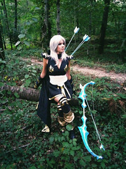 Ashe (Mayaneku) Tags: ashe cosplay leagueoflegends portrait game