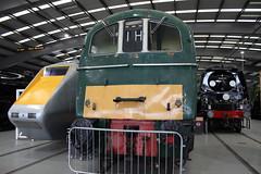 APT and E5001 (372Paul) Tags: nrm shildon nationalrailwaymuseum steam diesel electric e5001 class71 deltic lner emu 2hap black5 5000 sanspareil apt advancedpassengertrain