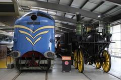 DELTIC and Sans Pareil (372Paul) Tags: nrm shildon nationalrailwaymuseum steam diesel electric e5001 class71 deltic lner emu 2hap black5 5000 sanspareil apt advancedpassengertrain