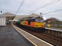 Troon - 14-04-2017 (agcthoms) Tags: scotland ayrshire troon railways trains station colas class60