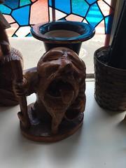 'Stoner' old man carving (Stop carbon pollution) Tags: japan 日本 honshuu 本州 touhoku 東北 fukushimaken 福島県