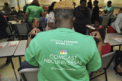 Comcast Cares Visits The Arc