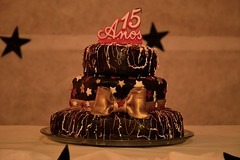 birrthday cake! (Leticia Manosso) Tags: iasmins 15 years old party birthday cake fancy teen teenager young indie dress candy makeup for