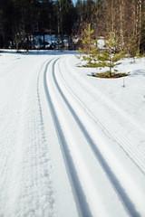 Tervalepikon_torpat-latu-IidaHollmen (OutdoorsFi) Tags: tervalepikontorpat mennäänmetsään sysmä winter track ski skii skiing snow outdooractivite