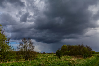 Weather in April No. 3 - Fischerhude, Lower Saxony, Germany