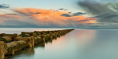 Warming clouds (Through Bri`s Lens) Tags: sussex lancing worthing pipeline longexposure leelittlestopper clouds brianspicer canon5dmk3 canon1635f4