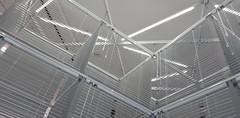 - Venetian blinds - (Jac Hardyy) Tags: venetian blinds blind art museum louver sunblind aluminum structure grey light led tubes tube hamburg kunsthalle jalousie jalousien kunst aluminium struktur grau licht lines angles