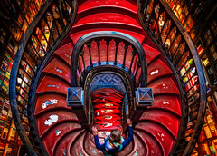 Porto Portal (Stuck in Customs) Tags: lisbon porto portugal stuckincustomscom treyratcliff bookstore bookshop hdr aurorahdr 80stays rcmemories airnzphotocontest flixbuscontest flixbus x1d
