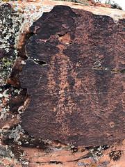 Sasquatch? (kerch) Tags: utah snowcanyonstatepark petroglyph rockart