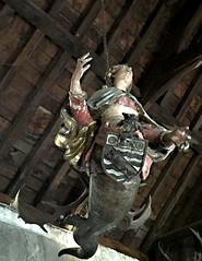 leuchterweibchen (Églantine) Tags: leuchterweibchen flamboyant femalefigure germanorigin bunrattycastle coclare ireland irlande wow