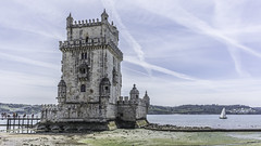 The Tower Of Belém (derepaht) Tags: the tower of belém lissabon portugal historic building fort historical old castle boat landscape fortification city travel serene view color colors tourist lisboa river belem explore