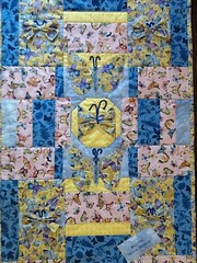 Butterflies .... (Mr. Happy Face - Peace :)) Tags: sewing quilting art2017 babyblanket patricia hobbies threads original crafts patchworks bechthold gramzy love family grandchild ava babylove
