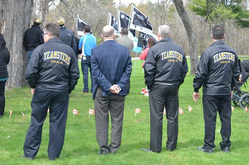 Day of Mourning 2017 Teamsters Canada