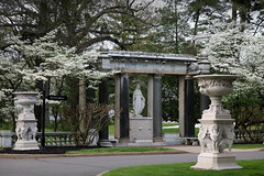 Georgian Court University, (Lakewood, New Jersey) (NataThe3) Tags: georgiancourtuniversity nj newjersey park spring nature sculpture statue architecture blossom blooming