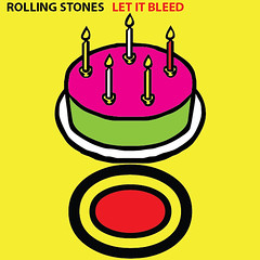 Rolling Stones - Let It Bleed (stallio) Tags: music art stones album coverart text cover rollingstones rolling unicode
