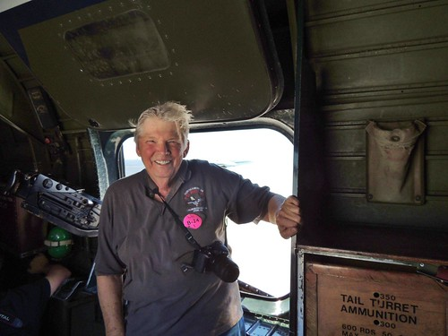 Flying in the B-24 Liberator bomber