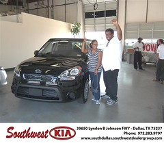 Southwest Kia of Dallas would like to wish a Happy Anniversary to Kwesi Williams on your 2012 Kia Soul (Southwest Kia Dallas) Tags: new southwest car sedan truck wagon happy dallas texas tx used vehicles mesquite bday dfw kia van suv coupe rockwall dealership hatchback dealer customers minvan 4dr metroplex shouts 2dr preowned