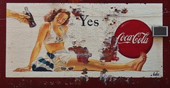 Vintage Coca-Cola Mural (MissyPenny) Tags: red brick vintage catchycolors painting mural pennsylvania ad coke advertisement cocacola tradition wallpainting vintagemural bristolpennsylvania commonwealthpa pdlaich advertisingtradition missypenny photochallenge165winner