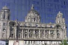 _A0B0007 (wayne190) Tags: abstract glass liverpool reflections pierhead