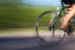 Speed (trekok, enjoying) Tags: motion blur speed cyclist ile goodbye qc blurs daiseys bizard 6413 039jpg elementsorganizer11