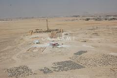 Qasr el-Hallabat (APAAME) Tags: flight2 flying2006 fort reservoir roman tomb umayyad village cistern digitalcamera mansion mosque aerialarchaeology aerialphotography middleeast airphoto archaeology ancienthistory