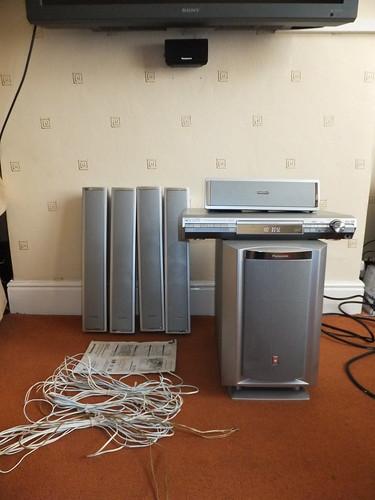 Flickriver: photoset 'panasonic dvd home theater sound system sa.