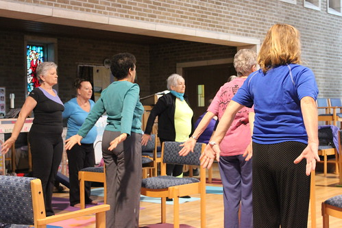 Chair Yoga - Health and Wellness - April 2013 (11)