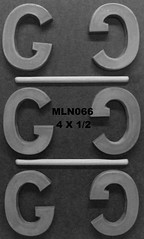MLN066 (Chocolate Concepts) Tags: chocolate g letters number numbers letter mold