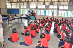 Teaching at Talad Pak Khlong Cao School (SierraSunrise) Tags: heritage church children thailand teaching samutprakan soorttermmissions