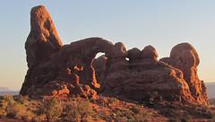 Turret Arch: Arches National Park: Moab, Utah (UT) (Floyd Muad'Dib) Tags: park sunset geotagged evening utah ut arch photographer photographers arches national moab np floyd muaddib turret turretarch archesnational floydmuaddib