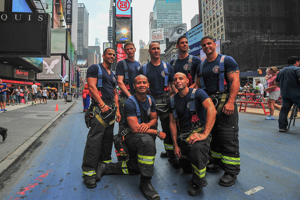 2014 FDNY Calendar of Heroes Launch (Official New York City Fire Department  (FDNY)