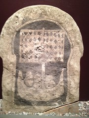 Picture stone with a boat from Broa (radiowood) Tags: art museum sweden medieval gotland vikings visby ironage