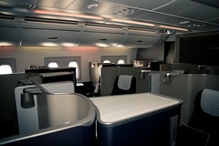 First Class on Airbus A380