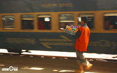 Station Hawker (iMROSE RASEL) Tags: motion station train canon eos lifestyle railwaystation dhaka dslr panning hawker 1000d kissf