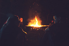 Bonfire Nights (RachelMarieSmith) Tags: friends summer portrait people forest movie fire photography still teenagers highschool tokina bonfire movies summerland filmmaking f28 featurefilm 1116mm