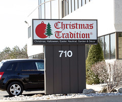 Building Monument Signs | Signarama Meadowvale, ON | Christmas Tradition
