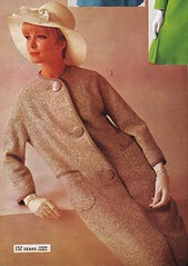 Sears 66 ss big buttons (jsbuttons) Tags: winter fashion vintage clothing mod 60s buttons sears coat womens 1966 gloves button catalog sixties buttonfront