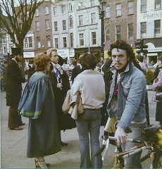 Dublin Arts Festival 80-0019 (David Denny2008) Tags: ireland dublin ass festival vampire arts curvy dracula parade redhead brunette 1980 milf shapely nubile