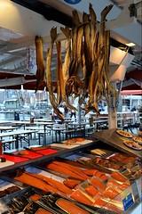 40076074 (wolfgangkaehler) Tags: city norway europe european market norwegian seafood marketplace bergen scandinavia fishmarket scandinavian marketscene bergennorway seafoodstand