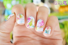 FOTO TUTORIAL | SPLATTER PAINT NAILS (tudomake) Tags: beauty diy blog nail polish tutorial unhas nailart esmaltes