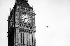 Big Ben, London (jwebertiedt) Tags: uk england blackandwhite london monochrome parliament bigben queenelizabethtower