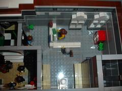 Lego 10224 Town Hall MOD from two sets. (LegoSjaak) Tags: new city building town hall big mod lego large modular creator xl extra biggest bg largest gemeentehuis moc 2014 2013 10224 legosjaak