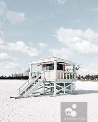 Miami South Beach, Art Deco District, Florida, USA (axelschmies photography) Tags: usa beach strand florida miami district sommer architektur artdeco amerika edition southbeach lifeguardtower southpointepark strandwachturm