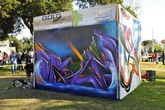 DYTCH 66, LIKE ONE (STILSAYN) Tags: california one graffiti oakland bay dream like battle east area estria 2014 dytch66